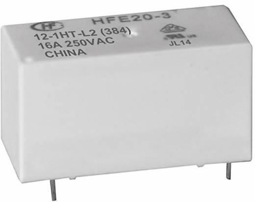 Hálózati relé, nagy bekapcsolási áramú, 12 V/DC, 1 záró 20 A 250 V/AC 5000 VA, Hongfa HFE20-1/012-1HD-L2