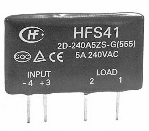 Elektronikus teljesítmény relé 0,1-5 A 48-440 V/AC, Hongfa HFS41/D-380A5Z-NG