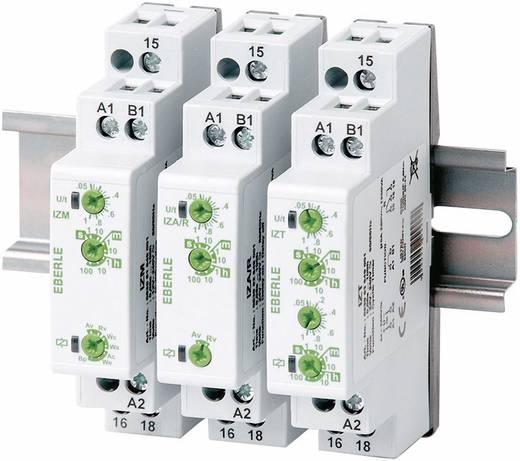 Installációs időrelé 12 - 240 V DC/AC 1 váltó/feszültségmentes 5 A 250 V/AC, Eberle IZM 0530 51 649 001