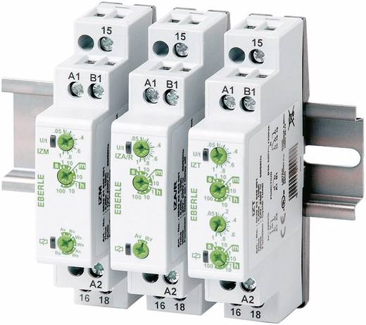 Installációs időrelé 24 - 240 V DC/AC 1 váltó/feszültségmentes 5 A 250 V/AC, Eberle IZT 0530 53 649 001