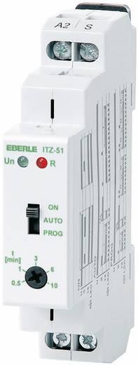 Lépcsőházi világítás időzítő 230 V/50-60 Hz 1 záró, 16 A 250 V/AC/24 V/DC 4000 VA/380 W, Eberle 0530 86 141 100 ITZ 51