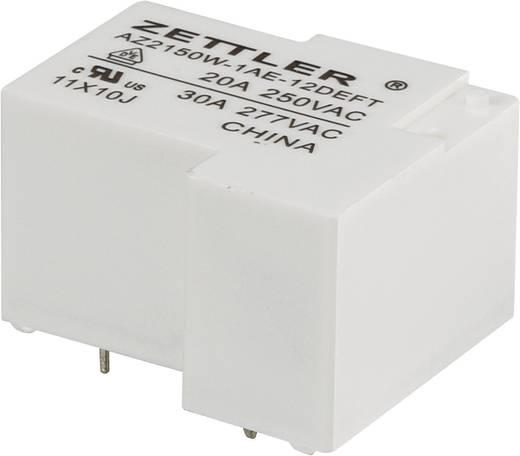Nagyteljesítményű relé 12 V/DC, 1 záró 30 A 240 V/DC/440 V/AC 900 W/8310 VA, Zettler Electronics AZ2150W-1AE-12DEFT