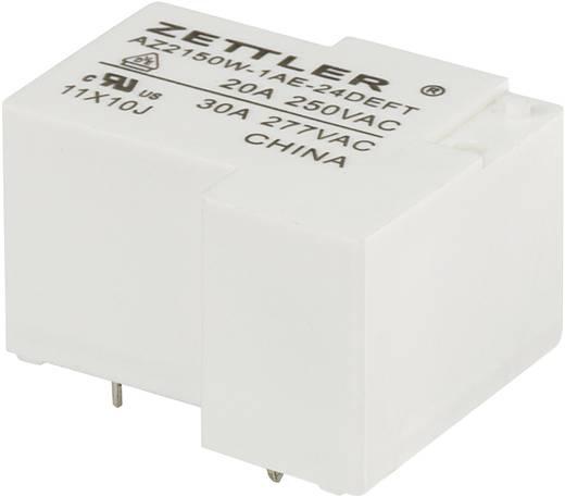 Nagyteljesítményű relé 24 V/DC, 1 záró 30 A 240 V/DC/440 V/AC 900 W/8310 VA Zettler Electronics AZ2150W-1AE-24DEFT