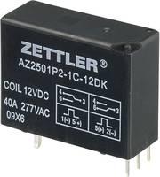 Bistabil nagyteljesítményű relé 12 V/DC 1 váltó, 50 A 440 V/AC 13850 VA, Zettler Electronics AZ2501P2-1C-12DK (507759) Zettler Electronics