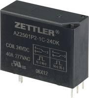 Bistabil nagyteljesítményű relé 24 V/DC 1 váltó, 50 A 440 V/AC 13850 VA, Zettler Electronics AZ2501P2-1C-24DK (507760) Zettler Electronics