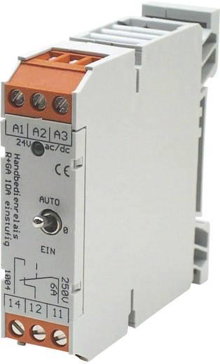 Relé csatoló a kézi-, vagy automatikus üzemmódhoz 1 váltó, Appoldt Kapcsoló RM-1W/kézi/automatikus