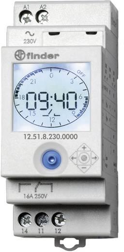 DIN sínes időkapcsoló óra, Finder 12.51.8.230.0000