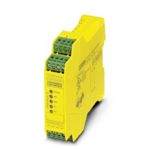 Vészleállító relé, Phoenix Contact 2981499 PSR-SPP- 24DC/SDC4/2X1/B