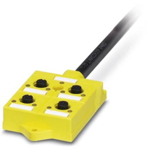 Érzékelő-/végrehajtó doboz, Phoenix Contact 2981871 PSR-SACB-4/4-L- 5,0PUR-SD