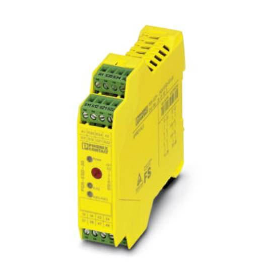 Vészleállító relé, Phoenix Contact 2981813 PSR-SPP- 24DC/ESD/4X1/30