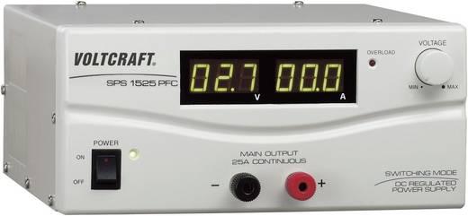 Lineáris labortápegység, szabályozható 3-15V, max. 25A kimenettel Voltcraft SPS 1525 PFC