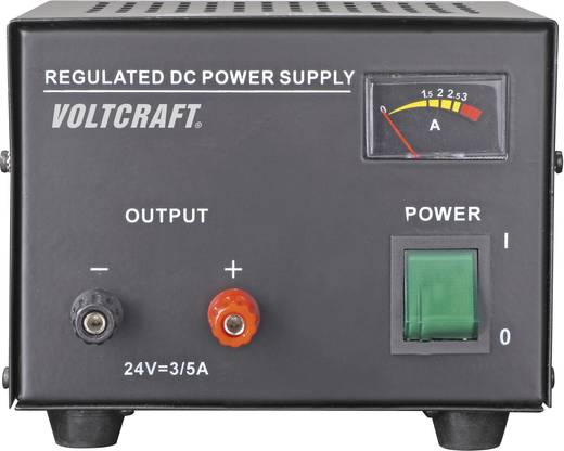 Fix feszültségű labortápegység 24V 3A 72W Voltcraft FSP-1243
