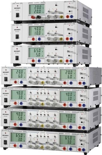 Kettős labortápegység lineáris, kapcsolóüzemű 0,1-40V/DC / 0-3A / 0,1-40V/DC 249W Voltcraft VSP 2403