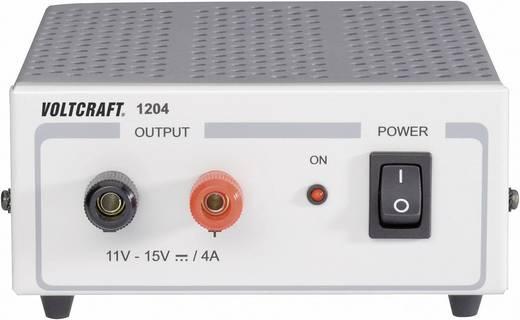 Fix feszültségű, kapcsolóüzemű labortápegység 60W 11-15V 4A, Voltcraft FSP 1204