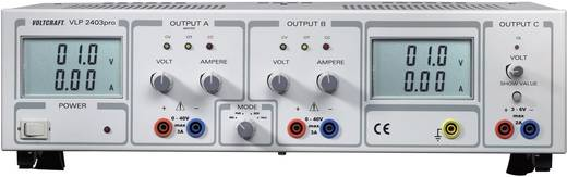 Lineáris labortápegység 252W 0-40V 0-3A, Voltcraft VLP 2403pro