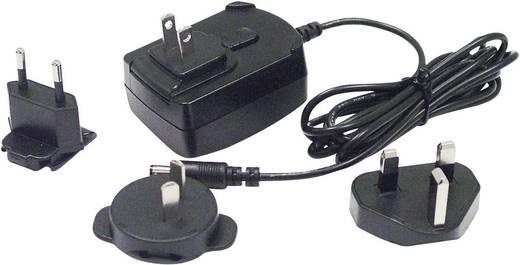 Hálózati adapter, fix feszültségű dugasztápegység külföldi konnektorokhoz 12 V/DC 1000 mA 12 W Phihong PSC12R-120