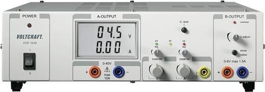 Szabályozható kettős labortápegység, kapcsolóüzemű Voltcraft VSP 1410