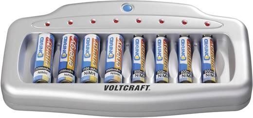 Ceruza, mikroceruza akkutöltő 8 rekeszes Voltcraft UFC-8