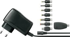 Hálózati adapter, fix feszültségű dugasztápegység, USB töltő 5 V/DC 2500 mA 12W Voltcraft SPS5-12W VOLTCRAFT