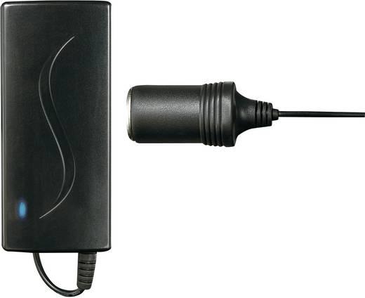 Hálózati adapter, fix feszültségű asztali tápegység szivargyújtó aljzattal 12 V/DC 5A 60W VOLTCRAFT SPS12-75W