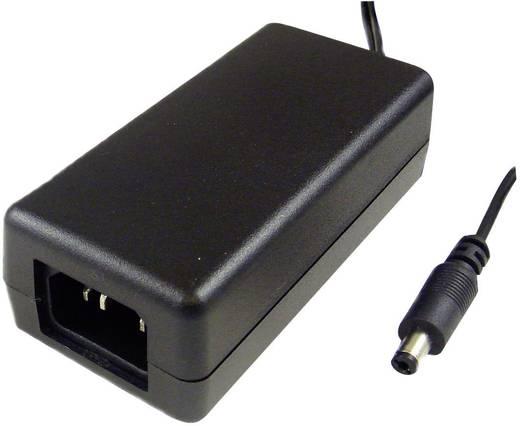 Hálózati adapter, fix feszültségű asztali tápegység 5.5/2.1 adapter dugóval 24 V/DC 750 mA Phihong PSAA18U-240-C
