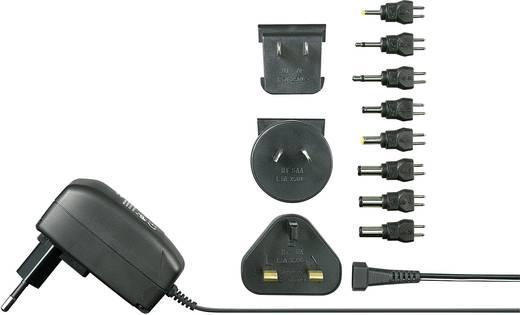 Univerzális hálózati adapter, dugasztápegység, külföldi konnektorokhoz 3 - 12 V/DC 600 mA 7.2 W Voltcraft SPS12-7W