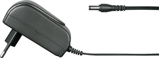 Hálózati adapter, fix feszültségű dugasztápegység, 5.5/2.5 adapter dugóval 12 V/DC 1500 mA 18W Voltcraft FPPS 12-18W2.5