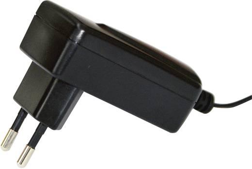 Hálózati adapter, fix feszültségű dugasztápegység, 5.5/2.1 adapter dugóval 15 V/DC 460 mA 7W Egston 003980012