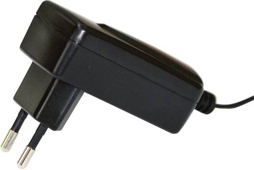 Hálózati adapter, fix feszültségű dugasztápegység, 5.5/2.1 adapter dugóval 6 V/DC 1800 mA 12W Egston 003980016