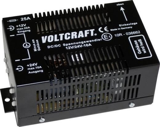 Egyenfeszültség átalakító 12V-24V 240W, Voltcraft 12/10