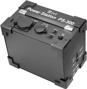 Szinuszos inverter/tápellátó állomás beépített akkuval 300 VA, 230 V/AC, 12 V/DC, IVT PS-300 (18352) IVT