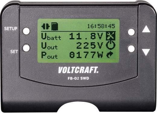 Vezetékes távirányító inverterekhez, Voltcraft FB-02 SWD