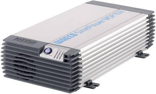 Inverter, 12V/230V, 1500 W, távirányítható, Waeco MSP 1512