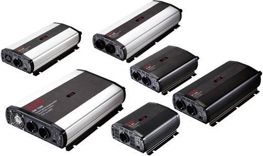 Szinuszos jellegű inverter távirányítóval, 1000 W, 12 V/DC (10.5 - 12.0 V/DC) - 230 V/AC, AEG SW 1000
