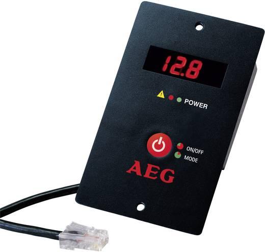 Autós inverter, USB csatlakozóval, LCD kijelzővel 1200W 12V/DC AEG ST 1200