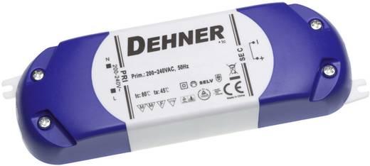 Dehner Elektronik feszültséggenerátoros LED tápegység, bútorba építhető, 12V/DC, 1,67A, 20W, LED 12V20WSELV