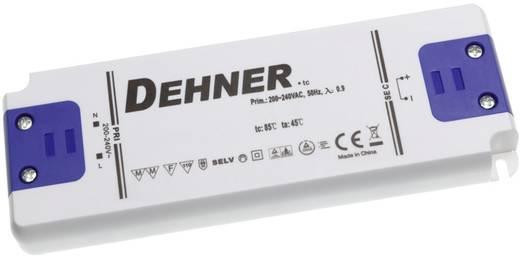 Dehner Elektronik feszültséggenerátoros LED tápegység, bútorba építhető, 24V/DC, 1,25A, 30W, LED 24V30WSELV