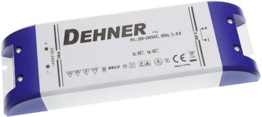 Dehner Elektronik feszültséggenerátoros LED tápegység, bútorba építhető, 24V/DC, 3,1A, 75W, LED 24V75WSELV