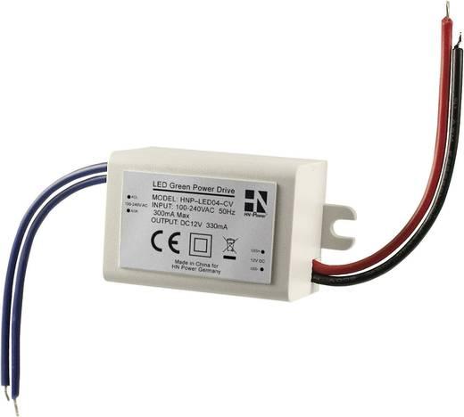 HN Power beépíthető LED tápegység, 12V/DC 330mA 4W, HNP-LED04-CV