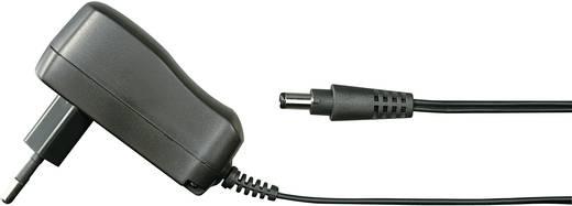 Hálózati adapter, fix feszültségű dugasztápegység, 5.5/2.1 adapter dugóval 9 V/DC 660 mA 6W Voltcraft FPPS 9-6W