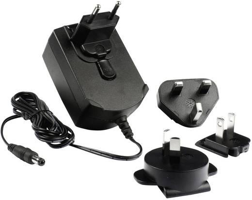 Hálózati adapter, fix feszültségű dugasztápegység külföldi konnektorokhoz 12V/DC 2500 mA 30 W Phihong PSAA30R-120