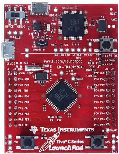Programozó mikrokontroller panel Texas Instruments Tiva™ C-Serie LaunchPad Evaluation EK-TM4C123GXL