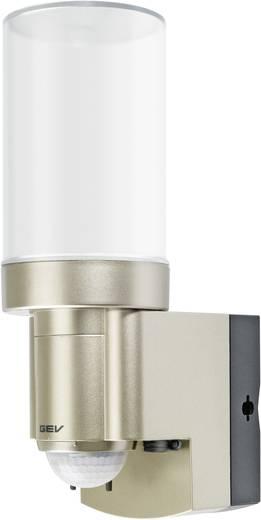 Napelemes lámpa mozgásérzékelővel hidegfehér IP44 pezsgőszín GEV 014831