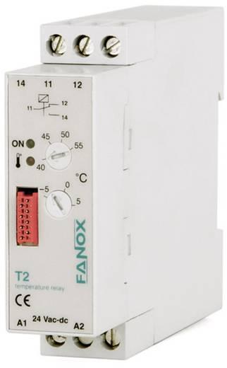 Hőmérséklet felügyelő relé, Fanox T2-24 VAC/DC