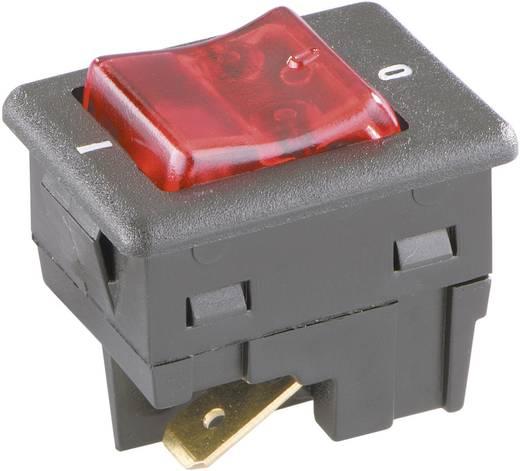 Billenőkapcsoló 2 pólusú, 16 A 250 V/AC, interBär 8005-002.01