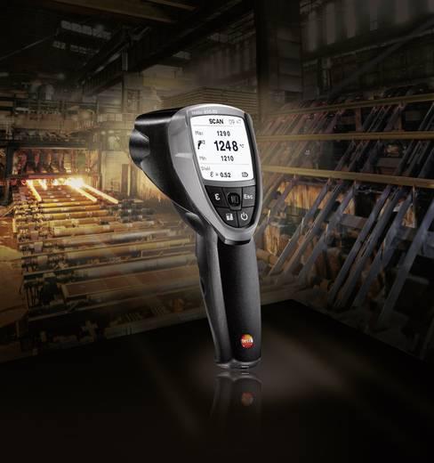 Infrahőmérő, távhőmérő 50:1 optikával -10 től +1500 °C-ig Testo 835-T2