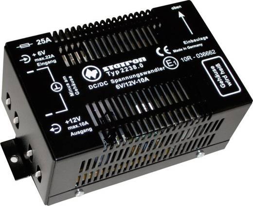 DC-DC konverter, feszültség átalakító 6V/DC-ból 12V/DC Statron 6/10 120W