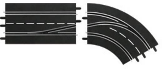 Kanyar sávváltó belsőből külsőre, jobb, Carrera 20030364 DIGITAL 132, DIGITAL 124