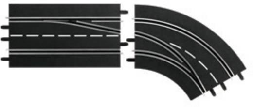 Kanyar sávváltó külsőből belsőre, jobb, Carrera 20030364 DIGITAL 132, DIGITAL 124