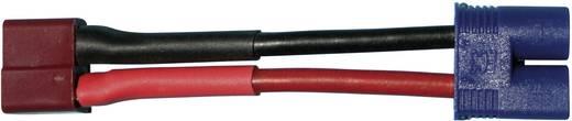 Modelcraft Adapterkábel T csatlakozó EC3 csatlakozódugóra 2.5 mm² 10 cm